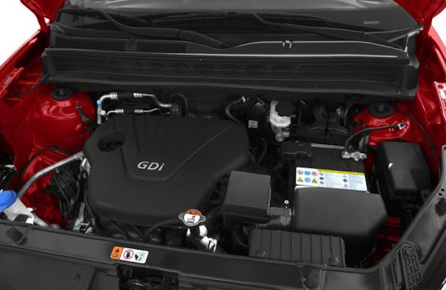 2017 Kia Soul engine