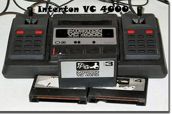 Videogames mais raros e caros - Interton 4000