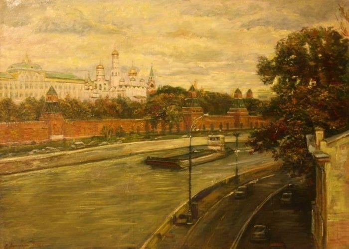Российский художник. Сергей Афонский