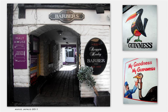 the entrance to the Malt house, Galway