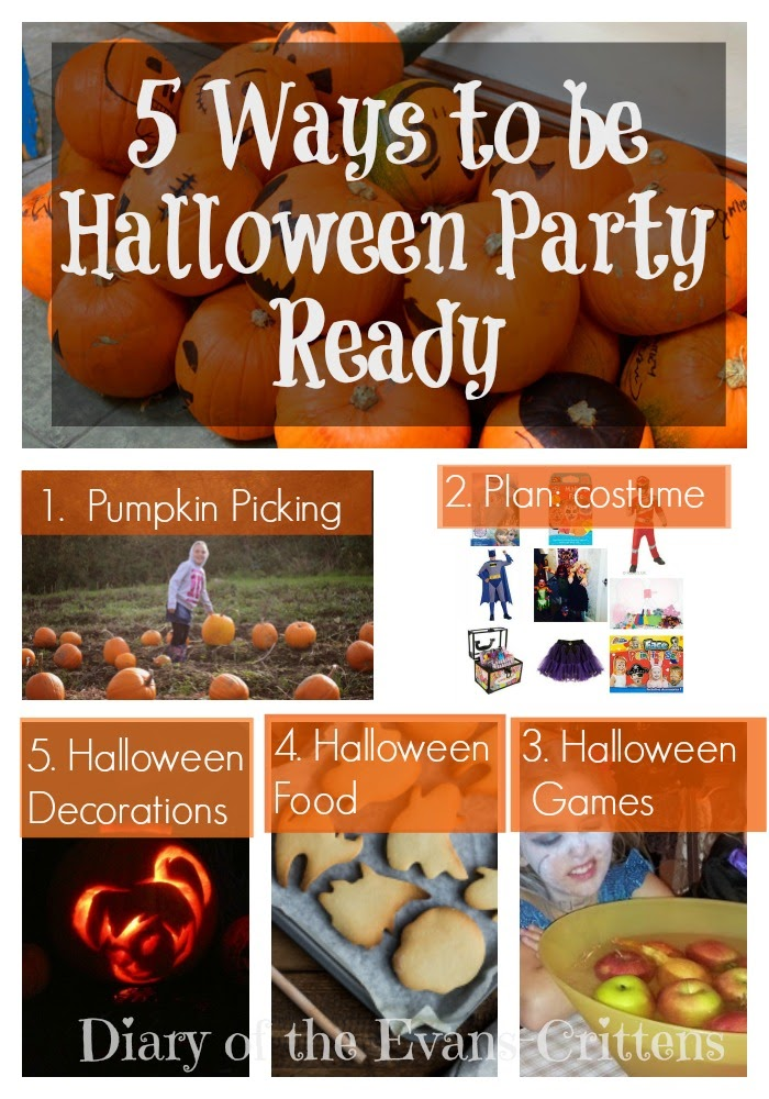 , Five Ways to be Halloween Party Ready