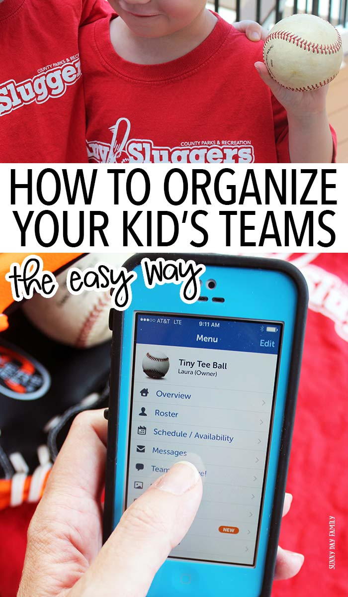 Organize all your kids teams, clubs, and activities with one easy to use app! TeamSnap makes communication and logistics simple - no more phone trees and mass emails. See how easy it is and start enjoying your kids activities again! (sponsored)