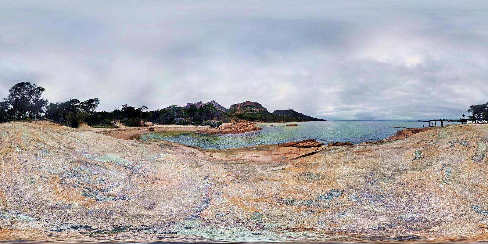 塔斯馬尼亞-景點-推薦-菲欣納國家公園-蜜月灣-旅遊-自由行-澳洲-Tasmania-Freycinet-National-Park-Honeymoon-Bay-Tourist-Attraction-Australia