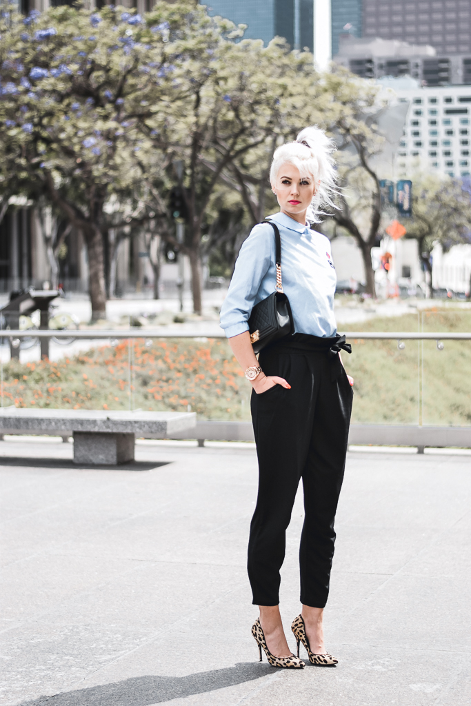 how to style a button shirt