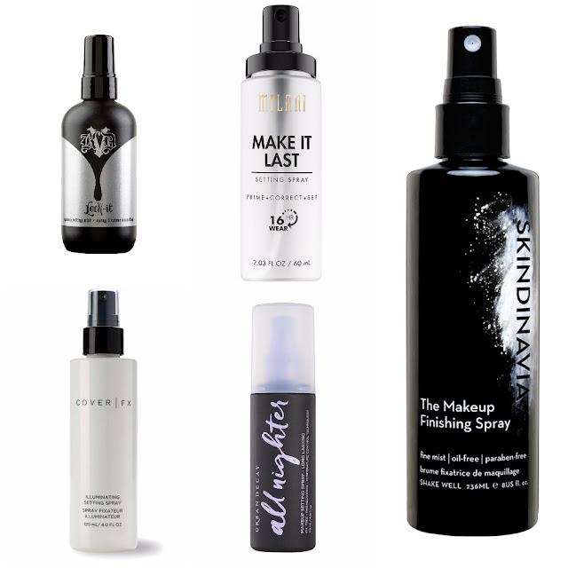 Top 5 Favourite Finishing Sprays