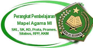RPP Fiqih Kelas 1,2,3,4,5,6 MI Semester 1 dan 2 KTSP