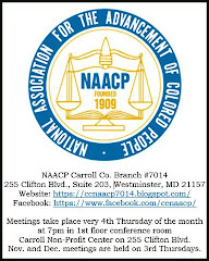 CC MD NAACP 7014 Annual Events