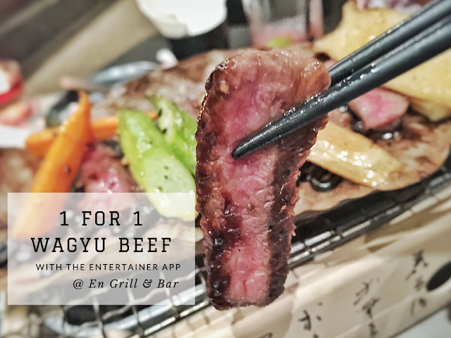 Wagyu Beef at En Grill & Bar Discount and Offer