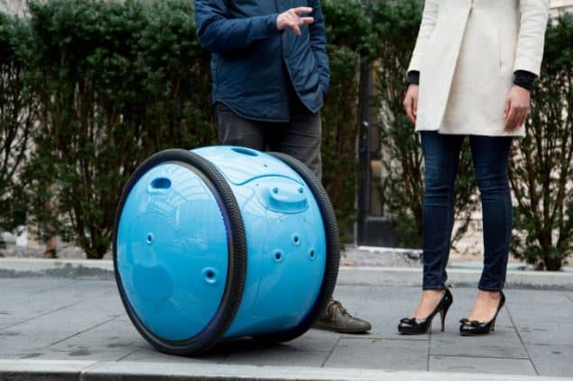 Personal Robot will Follow You Around and Carries Stuff for You