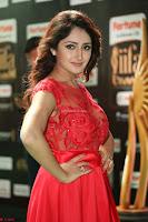 Saisha looks Glamorous Super cute in Transparent Red Gown at IIFA Utsavam Awards 008.JPG