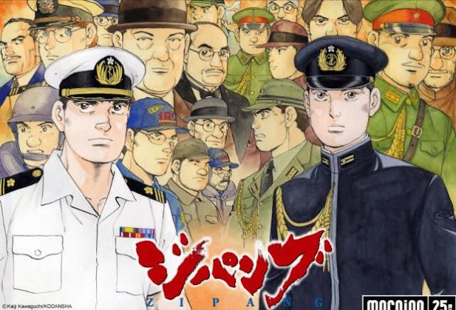 Zipang - Anime Time Travel Terbaik (Melakukan Perjalanan Waktu)