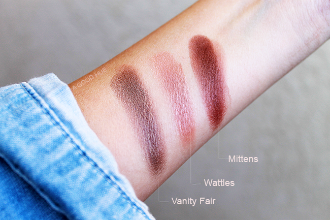 ColourPop Eye Shadow Swatches