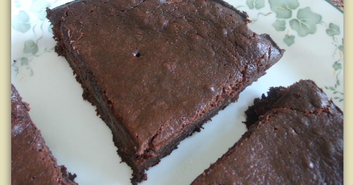 Chocolate Rhubarb Sour Cream Cake