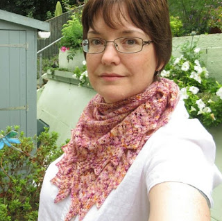 Tina's Allsorts, Leaf Edged Shawl