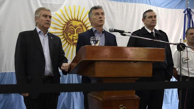 Cesan al jefe de la Armada argentina por crisis del submarino 