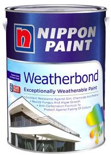 Harga Cat Tembok Nippon Paint Weatherbond