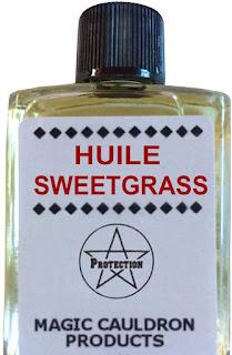 Huile Sweetgrass dans GEOMANCIE huile-magique-sweetgrass