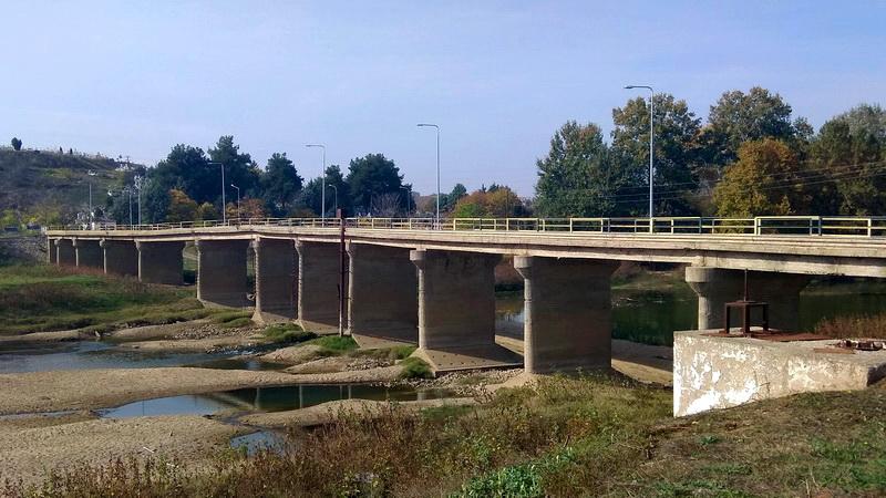 ροσωρινή διακοπή κυκλοφορίας στη γέφυρα του Ερυθροποτάμου στο Διδυμότειχο