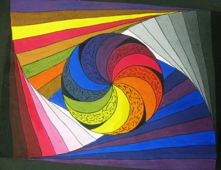 I M Back In Business Color Theory Student Art