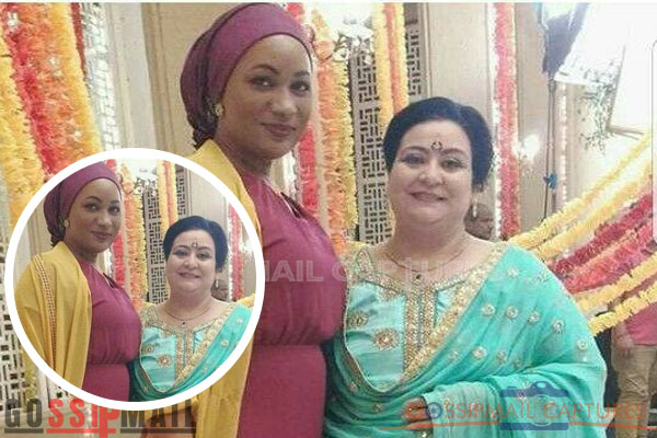 Samira Bawumia Made Ghanaians Angry For Taken Picture With Kumkum Bhagya Actress Pammi (Mitali's Mother)