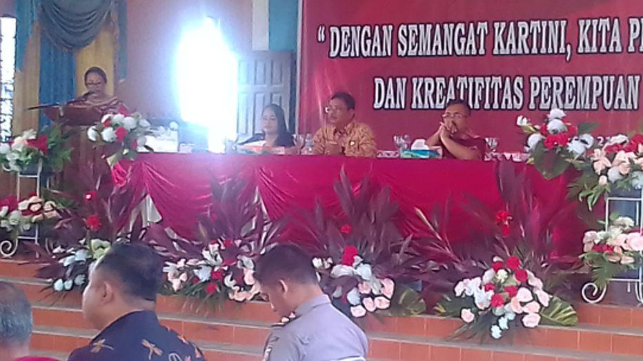 """Peringatan hari kartini ke-138,Tahun 2017. Dengan Tema """"Dengan Semangat Kartini, Kita Perkuat Daya Cipta Dan Kreatifitas Perempuan Masa Kini"""""""