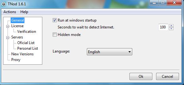 TNod 1.6.1 Interface