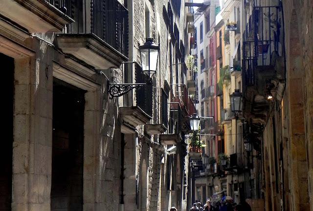 Barrio Gótico de Barcelona (Catalunya, España)