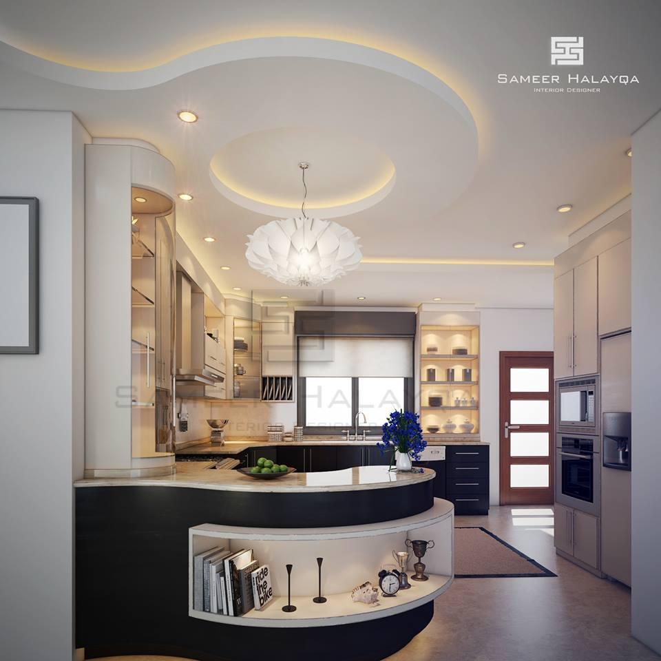 Creative Divider Design Ideas Between Open Kitchen And