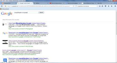 mengubah pencarian cse google arifweb