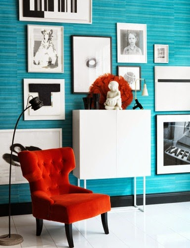El Salon De Mia Abre Las Puertas Al Color ROJO