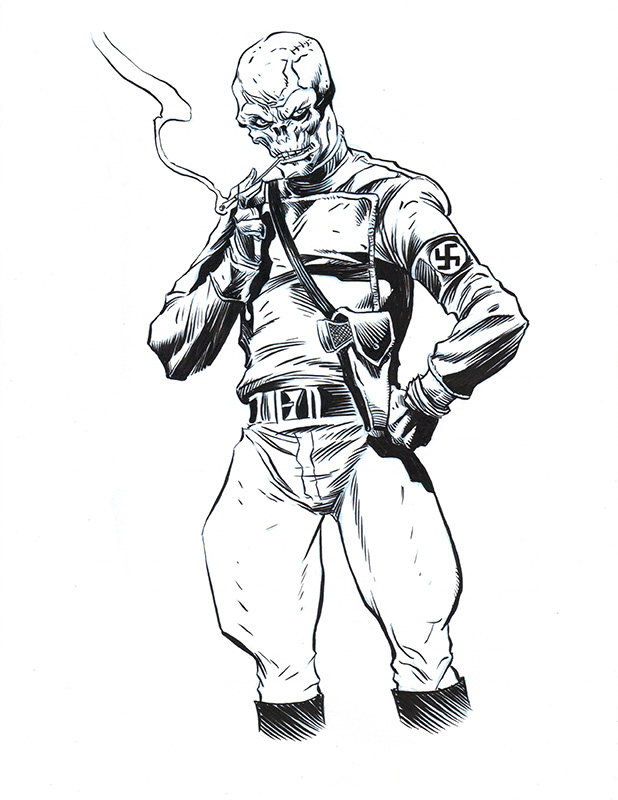 red skull coloring pages sketch template