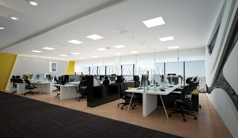 Thiết kế nội thất văn phòng mở - 2