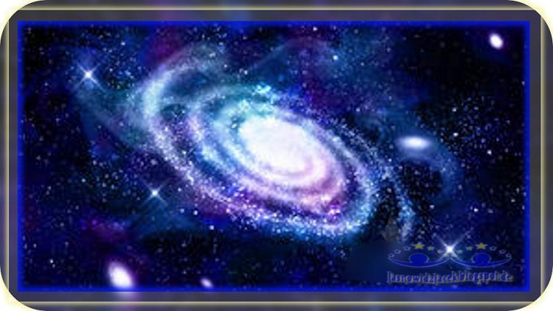 Piękno-wszechświata-Przestrzeń-Kosmiczna-Galaktyka-Spiralna