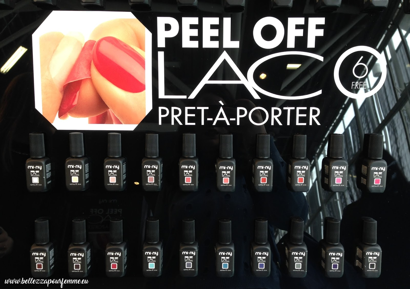 PEEL OFF LAC ONE STEP PRET A PORTER