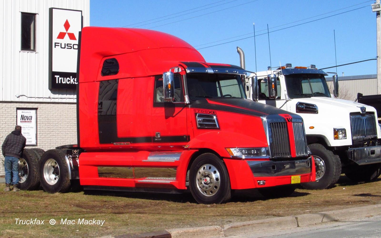 Truckfax: Western Star 5700XE