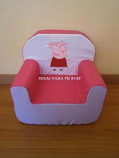 Sillón infantil Peppa pig