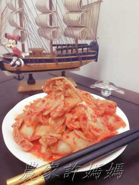 農家許媽媽-有脆勁做韓式泡菜