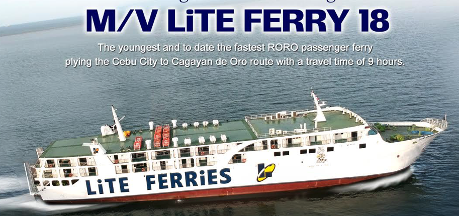 M/V Lite Ferry 18 Launching for the CDO-Cebu Route!
