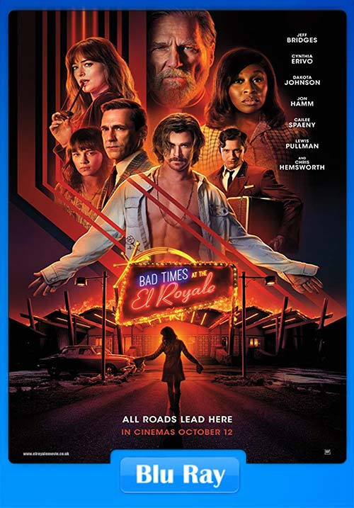 Bad Times At The El Royale 2018 Hindi 720p Bluray x264 | 480p 300MB | 100MB HEVC Poster