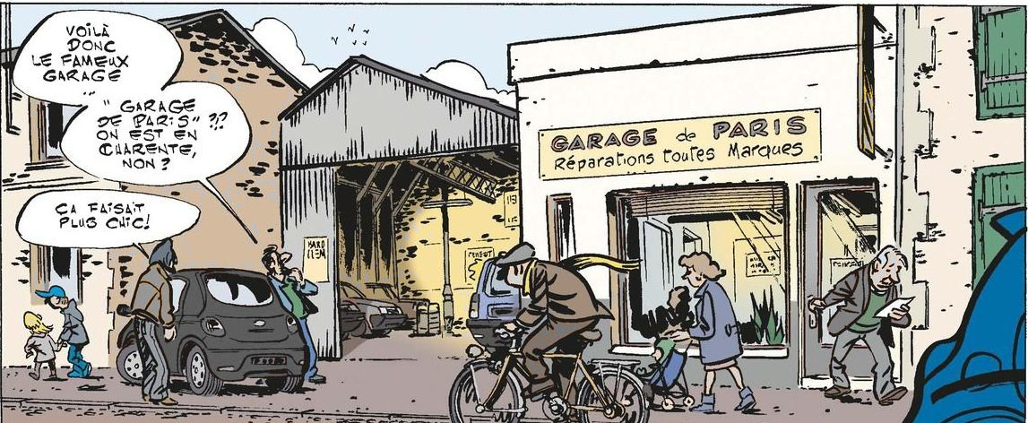 Seulement bd garage de paris s rie compl te v for Garage peugeot la madeleine