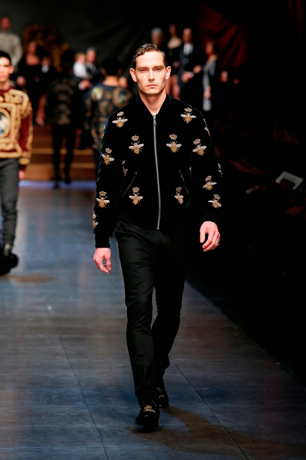 Men's Styling: Dolce&Gabbana Men's AW15 Collection At