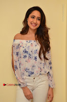 Actress Pragya Jaiswal Latest Pos in White Denim Jeans at Nakshatram Movie Teaser Launch  0029.JPG
