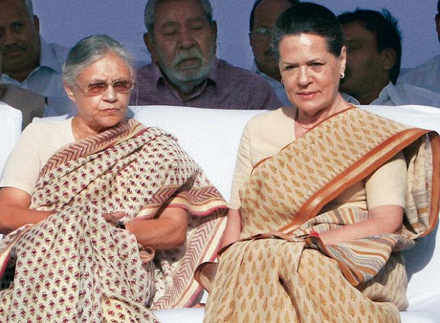 उत्तर प्रदेश में कांग्रेस की ओर से शीला दीक्षित होंगी CM पद की दावेदार