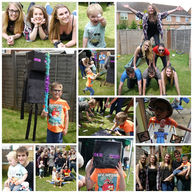 enderman pinata, party, family