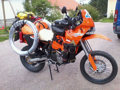 ADV KTM Giant Loop Fandango Tank Bag PRO,Orange Dual Sport