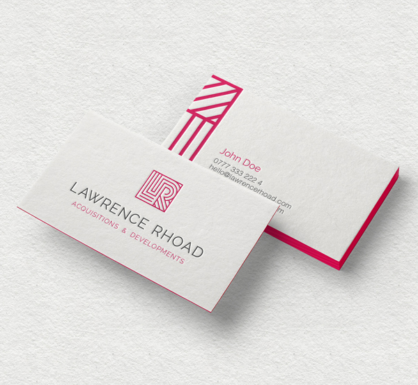 Inspirasi Desain Branding Identity - Lawrence Rhoad Branding