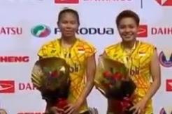 Juara Ganda Puteri Badminton Malaysia Masters 2019
