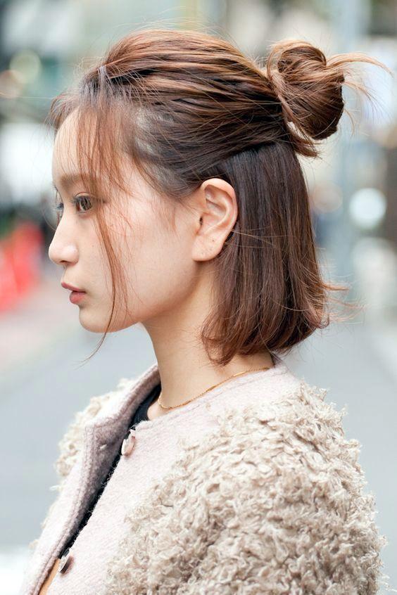 model gaya rambut korea keempat