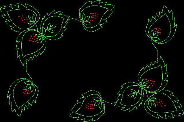 Схема ручной вышивки Изморозь