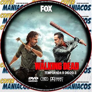 CARATULA The Walking Dead Season 8 Serie de TV